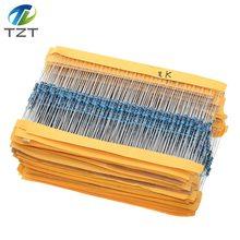 1-% Film-Resistor 10K Metal 100R 220R 4K7 47k-100k 100pcs TZT 2K2 100-220-1k5 1r--22m