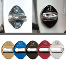 Emblem-Case Protection-Cover Decoration Jazz-Accessories Door-Lock Car-Styling Hrv CRV