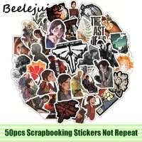 50pcs The last of us Stickers paster Cartoon characters anime movie funny decals scrapbooking diy laptop waterproof decorations