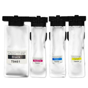 T9461 T9451-T9454 cartridges For Epson WorkForce Pro WF C5290 C5790 WF-C5210 WF-C5710 printer ink bag with chip and pigment ink refill ink cartridge t03a1 t03a4 for epson workforce wf 2810 wf 2830 wf 2835 wf 2850 printer with one time chip singe use