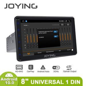 Image 5 - Disfrutando Radio Pantalla 1 din Android 10 reproductor Multimedia de la unidad 4GB 64GB Carplay Android Auto 4G HD Pantalla óptica salida OBD