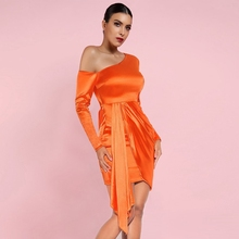 Sleeve Dress HI1080-Orang Orange