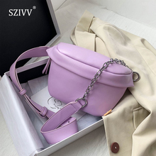 sweet color s305 Solid Color Chain Small Crossbody Bags For Women 2020 Summer Sweet Shoulder Bags Lady Travel Handbags Sweet Cross Body Bag