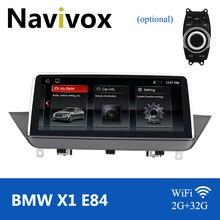 "Navivox 10.25"" Android 10 Car GPS Radio Multimedia Player For BMW X1 E84 2009 2015 idrive Multimedia Autoradio Steering Wheel"