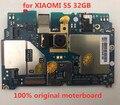 Полная работа для XIAOMI 5s 32 Гб материнская плата  100% оригинальная разблокированная для XIAOMI 5s 32 Гб логическая плата без касания ID32gb