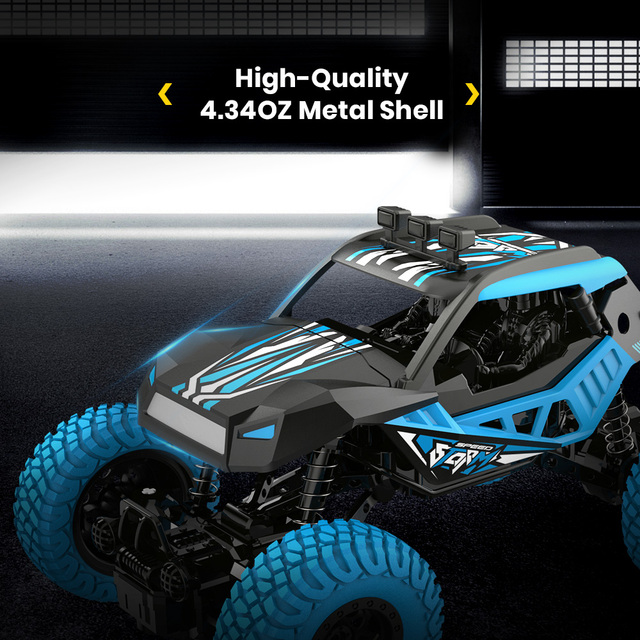 DEERC DE32 RC Car Offroad Trucks 2.4G Radio Remote Control Car RC Rock Crawler Car Racing Monster Truck For Children Adults Kids 4