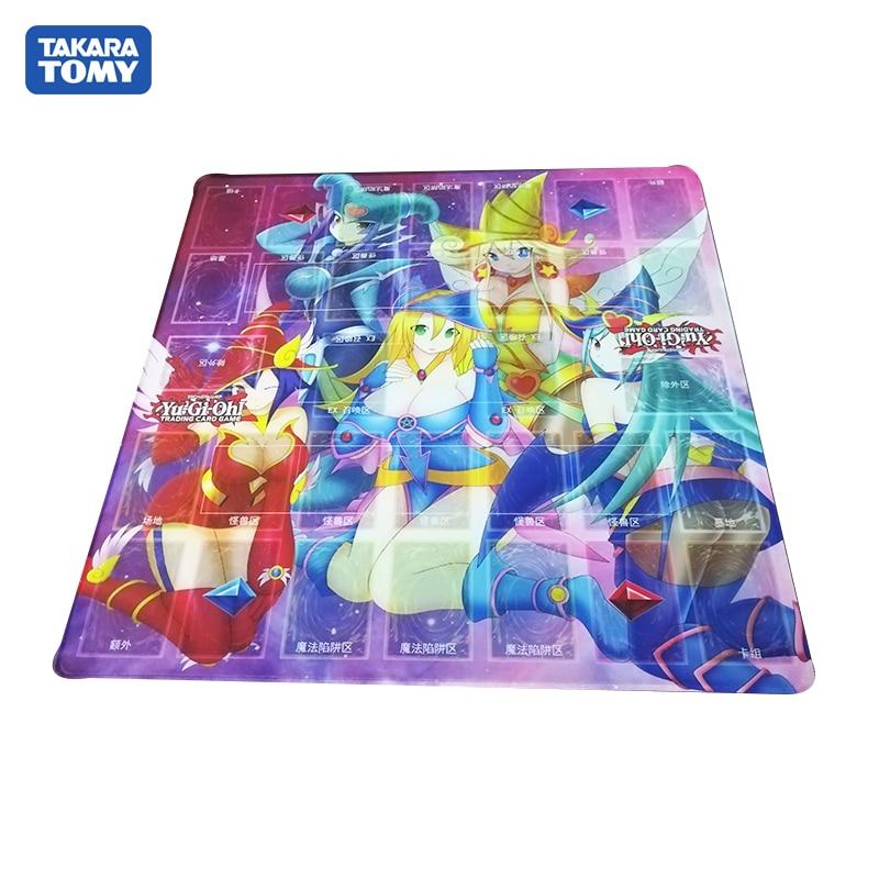 Takara Tomy 55*55cm Playmat For YU GI OH Duel Masters Card Board Game Pad TCG Mat Gamepad