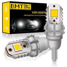BMTxms T15 W16W inversa led de luz blanca de 5800K para Nissan Qashqai J11 J10 X rastro Xtrail de T32 T31 Juke Tiida Nota de Teana