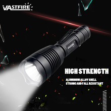 Rechargeable Tactical Flashlight 1200 Lumen Single Mode High lumens hunting flashlight with 18650 Battery