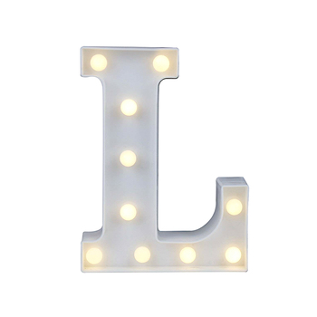 Home Party Decor LED Lights Mood Lamp Vintage Large Marquee A To Z Alphabet Symbol Warm Sign Xmas Wedding Party​