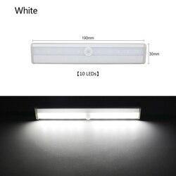 LED Pir LED MOTION SENSOR Lampu Lemari Lampu Tidur LED Di Bawah Kabinet Lampu Malam untuk Lemari Dapur Tangga