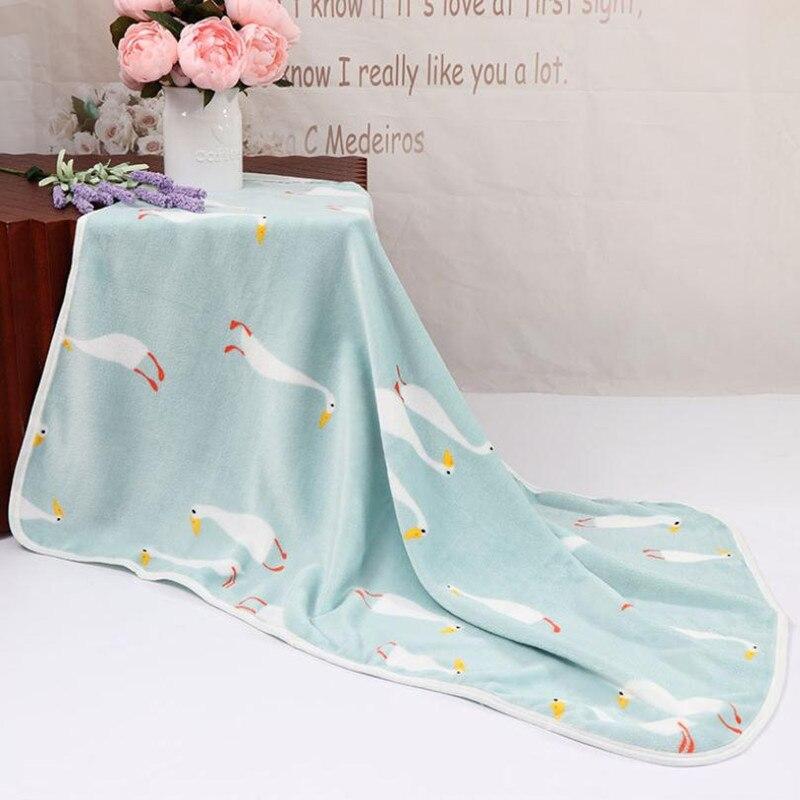 Одеяло для новорожденных, хлопковое зимнее детское Пеленальное Одеяло 73*100 см, мягкое зимнее одеяло для новорожденных - Цвет: Color 6