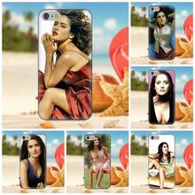 Oedmeb For iPhone X 4S 5S 5C SE 6S 7 8 Plus Galaxy Note 5 6 8 S9+ Grand Core Prime Alpha TPU Protective Salma Hayek(China)