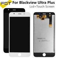 5.5 for for para blackview ultra plus display lcd com tela de toque digitador assembléia peças reposição + ferramentas