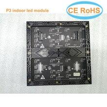 Offre spéciale P3 led module 64*64 pixels smd2121 intérieur 192*192mm 32scan polychrome led matrice P4 P5 P6 P10 led panneau panneau