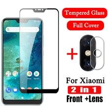 2 in 1 9D Camera Tempered Glass for Xiaomi Mi A2 Lite Screen Protector Mi A2 Lens Film Protective Glas xiomi MiA2 light MiA2Lite