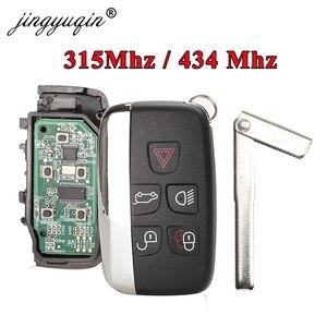 Image 1 - Jingyuqin 5 pçs 315/434 mhz chave remota do carro para jaguar land rover discovery 4 freelander range rover esporte evoque inteligente chave fob