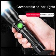 Powerful Aluminum Alloy L8 Led Flashlight Outdoor Torch Ligh