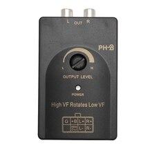 Низкий уровень конвертер адаптер автомобильный аудио RCA конвертер автомобильный Радио кабель
