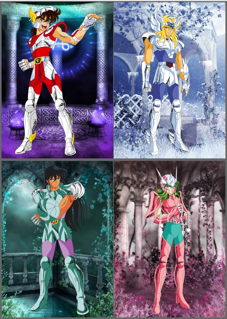 Saint Seiya 30th ANNIVERSARY Beautifully Memorial Picture Album Size 30*21CM 100 Pages Collection Cards For Children Gift