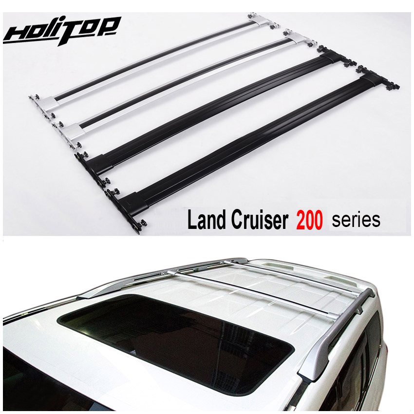 OE модель багажник на крышу перекрещивание для Toyota Land Cruiser 200 V8 LC 200 LC200 2008 2018, серебристый/черный, ISO9001: 2008 Качество Подлокотники      АлиЭкспресс