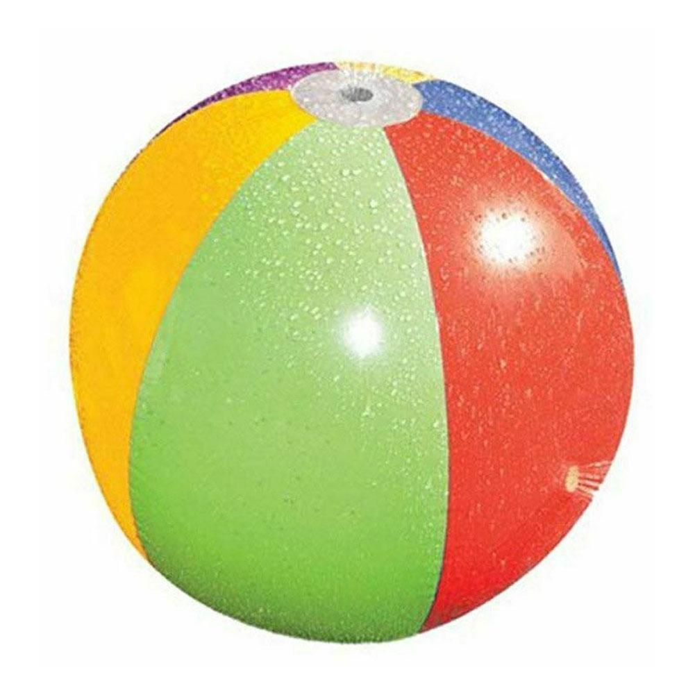 Inflatable Beach Ball Outdoor Playing Water Ball Lawn Toy Children's Playing Ball J9S0
