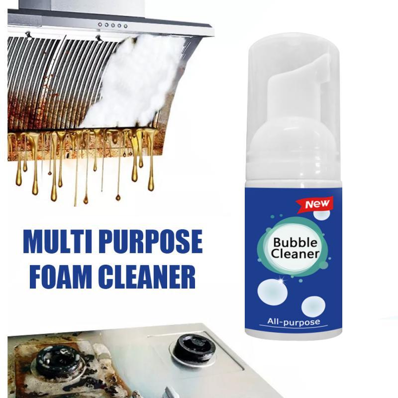 Смазка для удаления ржавчины, многофункциональный пенопластовый очиститель для кухни, бытовой очиститель грязевого масла, спрей для мытья ...