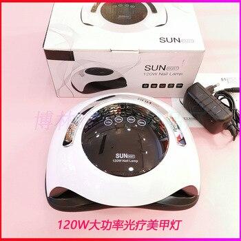 Sunbq5t manicure light 120W high power 36 lamp beads multi gear timing arc handle