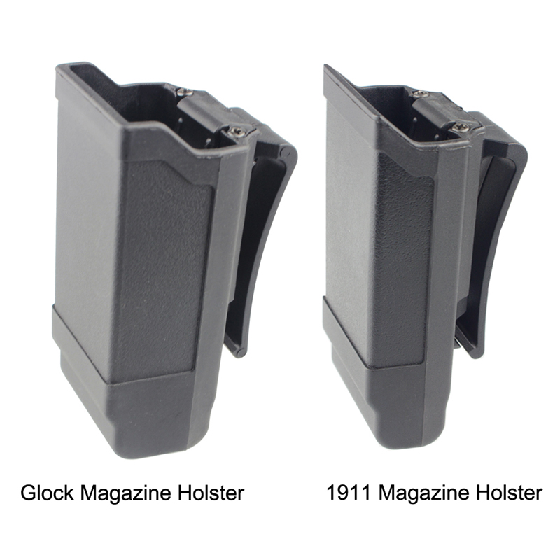 CQC Magazine <font><b>Holster</b></font> Tactical <font><b>Gun</b></font> Mag Holder for Glock 17 19 18 or <font><b>1911</b></font> Caliber Magazine Hunting Accessories Mag Pouch image