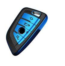 Износостойкий ТПУ кожаный чехол для ключа стайлинга автомобиля