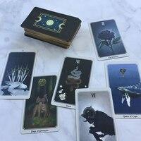 Full English Anima Mundi Tarot Cards Factory Made High Quality Tarot Deck Board Game Cards