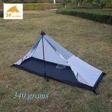 Tente de camping extérieure ultralégère portes en T, design, 4 saisons, la plupart des pyramides, 340 grammes
