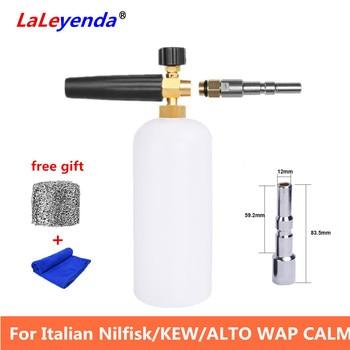 LaLeyenda Water Gun Snow Foam Generator Lance for Italian Nilfisk KEW ALTO WAP CALM Fomer Nozzle Sprayer Foamer Car Washer Tools