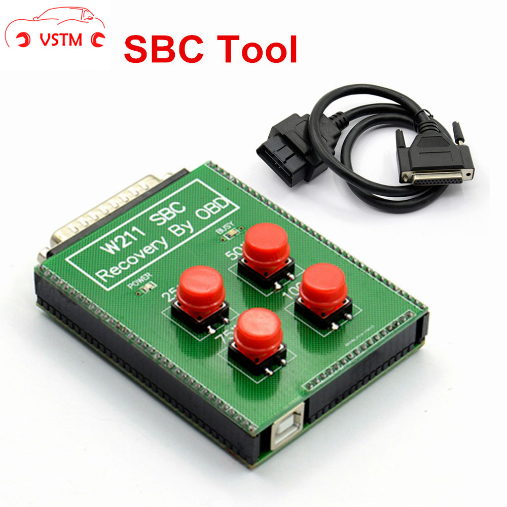 Новейший сброс SBC для Me-rce-des для B-e-nZ W211 R230 ABS SBC сброс-инструмент-восстановление напрямую с помощью OBD