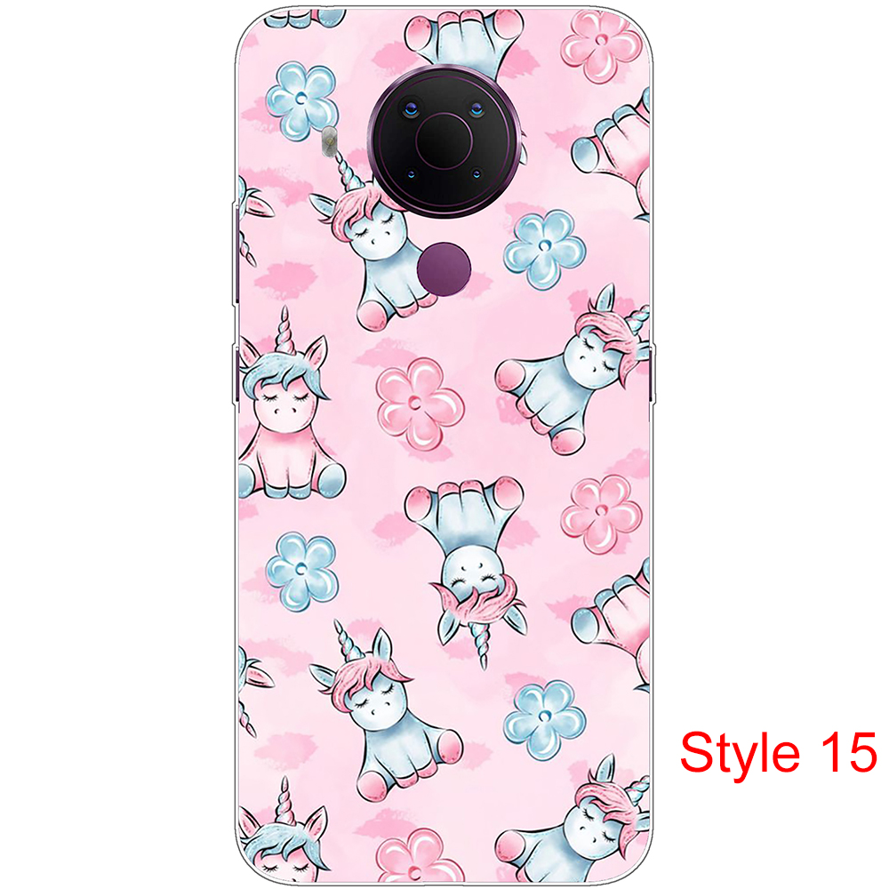 For Nokia 5.4 Case Silicon Soft Tpu For Nokia5.4 6.39Inch Shell Phone Back Cover TA-1333 TA-1340 Full Protection Coque Bumper