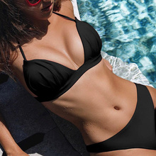 Swimsuit Bikini Bikinis 2019 Sexy Bikini Push Up Women Swimming Suit Swimsuit Swimwear Women Bathing Swim Suit Two Piece bikini sexy swim suit women 2017 skirt type bikini swimsuit steel prop stripe conjoined 4 piece swimsuit bikini china