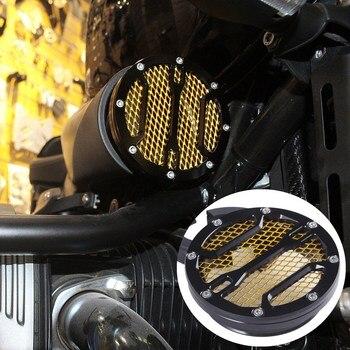 Для BMW R Nine T R9T 2013 14 2015 2016 2017 2018 крышка воздухозаборника CNC воздушный фильтр черный золотой RNineT аксессуары для мотоциклов