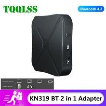 Tqqlss Bluetooth Audio Ontvanger Zender 2 In 1 3.5Mm 3.5 Aux Jack Rca Stereo Muziek Draadloze Adapter Voor Tv pc Auto Luidsprekers