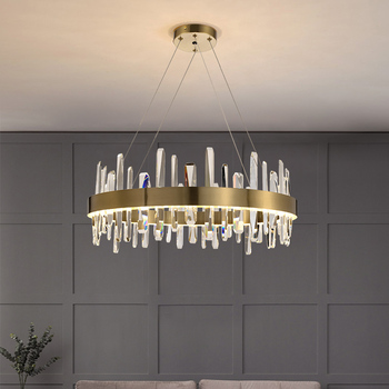 цена на Creative Led Chandeliers Lighting Modern Crystal Chandelier For Kids Bedroom Dining room Lamp Living room Hanglamp Loft Light