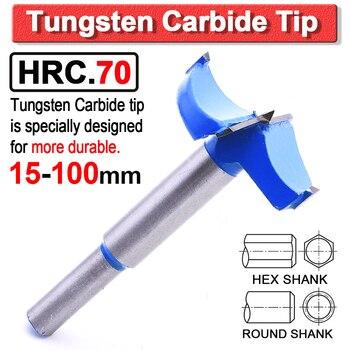 цена на Forstner drill bits 15-100mm Auger Drill Bit Set Woodworking Drill Bit TCT Forstner Bit Carbide Tip Hex/Round Shank Drilling D30