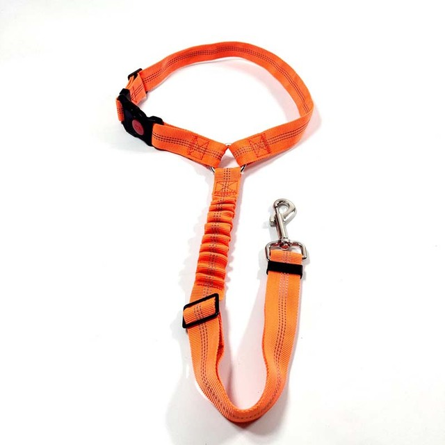 1Pcs Adjustable Pet Cat Dog Safety Belt Collars Pet Restraint Lead Leash Travel Clip Car Safety Harness For Most Vehicle
