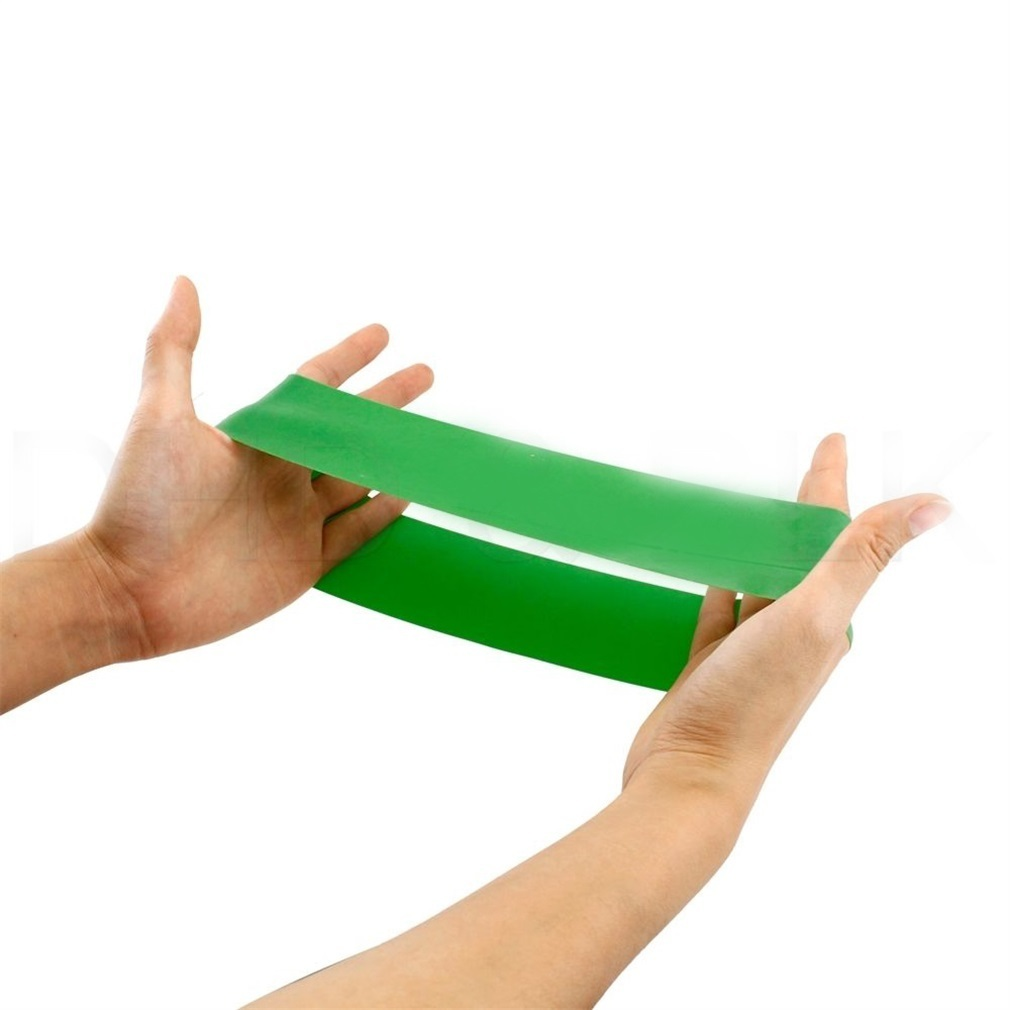 Натуральный латекс сопротивления натяжения ленты для тренировок Фитнес физические упражнения Обучение эспандер прочный практических занятий Эластичная лента
