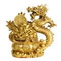 MOZART Чистая медь Рог изобилия Дракон Лун украшения 12 зодиака драконы ремесла украшение дома