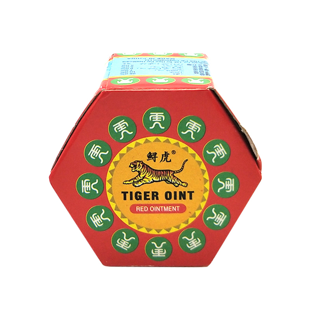 100% Original Red Tiger Balm Ointment Thailand Painkiller Ointment Muscle Pain Relief Ointment Soothe itch 19.5g 4