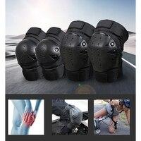 Leggings de protección de carreras todoterreno para motocicleta caída rodilla explosión rodilla corta|Rodillera protectora para motocicleta|Automóviles y motocicletas -