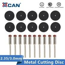 Xcan 20 個 2.35 ミリメートル/3.0 ミリメートルシャンク樹脂ファイバ切断ディスク金属切削ミニ鋸刃ロータリーツールaccessorieキットカッター ホイール