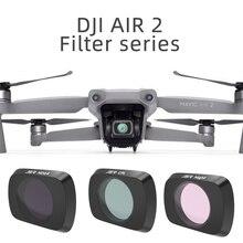 Filtros de lente para dji mavic ar 2 uv cpl nd 8 16 32 pl filtro filtros kit para dji mavic ar 2 nd8 nd16 nd32 nd pl filtros conjunto