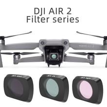 Lens Filters For DJI Mavic Air 2 UV CPL ND 8 16 32 PL Filter Filters Kit for DJI Mavic Air 2 ND8 ND16 ND32 ND PL Filters Set