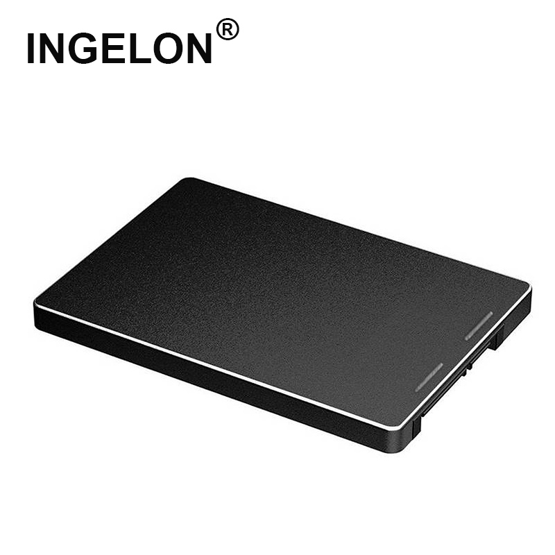 Ingelon HDD Enclosure M.2 SSD Enclosure To Sata 3.0 Metal 2242/2260/2280mm NGFF Black Box M2 Case Adapter For Computer Laptop