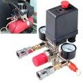 Регулятор давления для воздушного клапана 230 В  регулятор давления для воздушного компрессора с быстрым соединителем